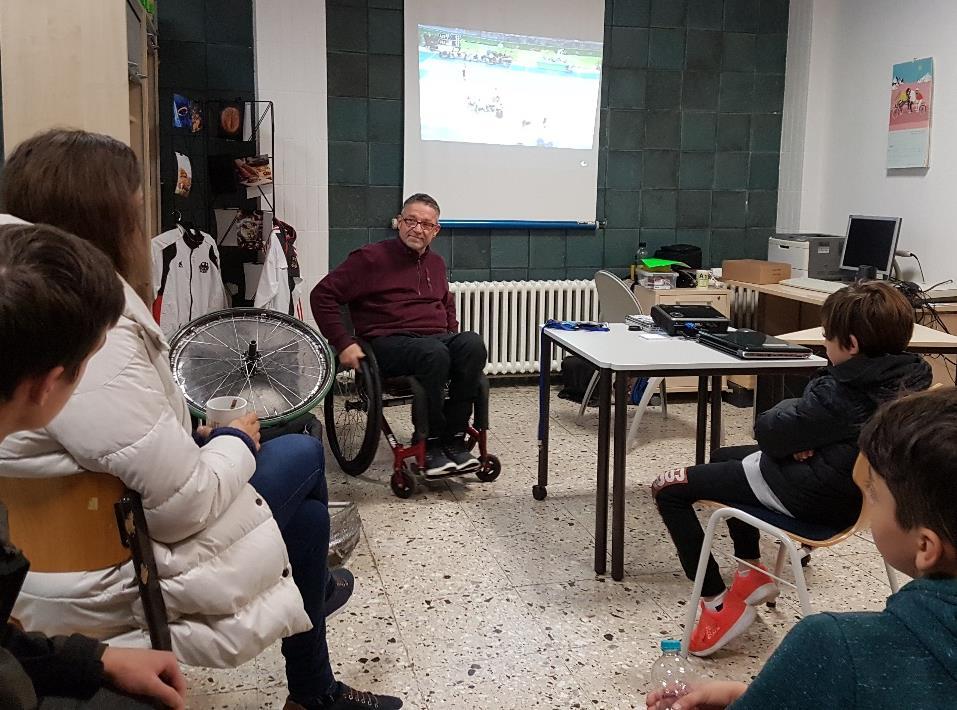 Der Rollstuhl-Rugby-Spieler Jörg Holzem