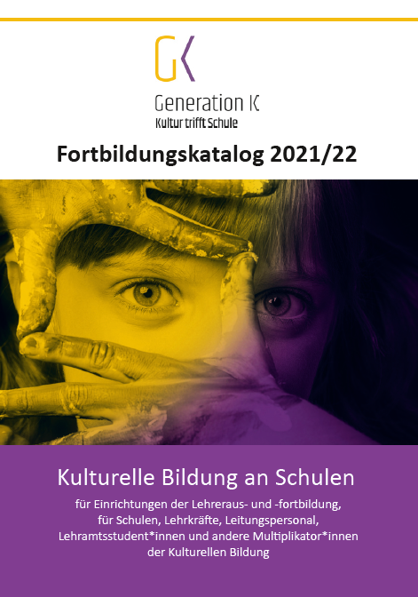 Titelbild des Fortbildungkatalogs GenerationK 2021/22